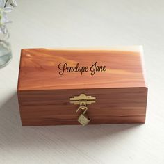 Personalized keepsake box baby keepsake box wedding keepsake box personalized childs keepsake box godchild giftpersonalized baby negle