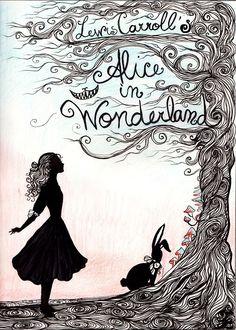alice in wonderland poster  - alice addict? me? nooooo!