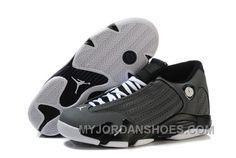 size 40 eb3aa 2a1d5 Nike Air Jordan 14 (XIV) Homme Gris Noir WeHKG