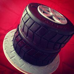 All Time Best Useful Tips: Muscle Car Wheels Pontiac Gto car wheels ideas race tracks. Gto Car, Camaro Car, Car Cakes For Boys, Boy Cakes, Ford Mustang Car, Mustang Cake, Tire Cake, Shelby Car, Beetle Car