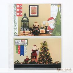 Document December with BoBunny Elf Magic Misc Me and Juliana Michaels. Love how she shared her Christmas memories in her album. #BoBunny, @Juliana Michaels