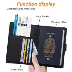 U.s Passport Cover Beautiful Seashell Stylish Pu Leather Travel Accessories Kids Passport Case For Women Men