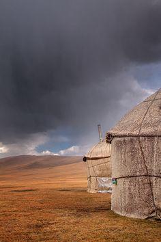 Son Kul Lake, Kyrgyzstan by Reggy de With, via Behance