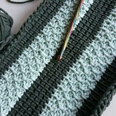 Tunisian crochet stitch