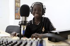 Children's rights, an important topic to be broadcast on air - www.unicef.org/mozambique/resources_13189.html -   Pictured, Pedro Junior has been a radio presenter for a year and believes his programs reach children and their families with important messages.