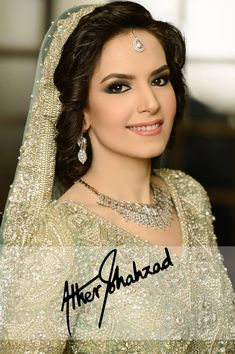 Valima bride makeup and photography by ather shahzad