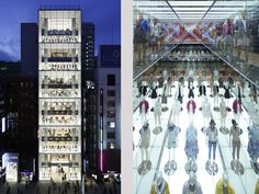 The Design of the Uniqlo Ginza Store by Wonderwall - Highsnobiety