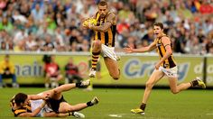 Australian Football League (AFL) Hawthorn vs Collingwood Round 14 on MCG Stadium , Saturday, June (AEST). Two of the biggest heavyweights in the face of the competition and cake Australian Football League, Tv Channels, Competition, June, Sports, Hs Sports, Sport