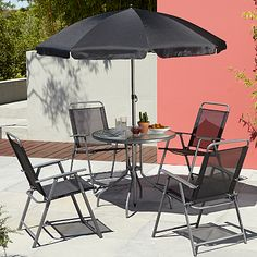 Cuba 6 Piece Patio Set