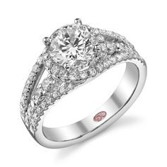 Designer Engagement Jewelry and Rings - Demarco Bridal Jewelry Cheap Engagement Rings, Designer Engagement Rings, Engagement Jewelry, Round Cut Diamond, Bridal Jewelry, White Gold, Wedding Rings, Confident, Wishful Thinking