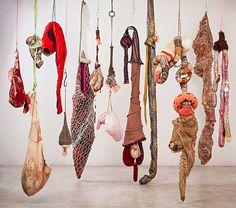 Textile art by Renato Dib                                                                                                                                                                                 More