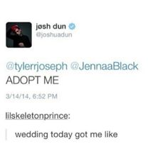 ADOPT ME, ME AND JOSH COULD BE SIBLINGS HAHA