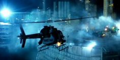 Bell 407 attack helicopter in Transformers: Age Of Extinction
