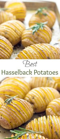Are you looking for easy potato recipe for Christmas? You've got to try HEALTHY baked Hasselback Potatoes! They are cute, super flavorful, crispy and absolutely delicious. These Hasselback Potatoes with Garlic and Parmesan are going to be a hit at your house. #potatorecipe #sidedish #Christmasrecipes #Christmasdinner