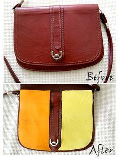 f-f-f-fashion: [D.I.Y] Geanta Color Block