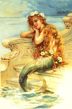 The original fairytale goes that, at the age of 15, a mermaid is allowed to swim up to the surface and see the world above. Description from alexalovesbooks.com. I searched for this on bing.com/images