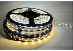 LED Super Bright Flexible Strip - Prices Starting at $6.87 - Perfect choice for kitchen under cabinet lighting, shelves, display cabinets, signage, and entertainment centers. Available in warm white or cool white.