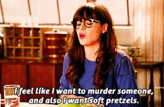Soft pretzels & murder