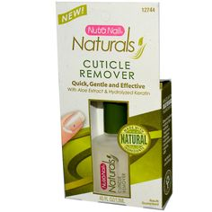 Nutra Nail, Naturals, Cuticle Remover, 0.45 fl oz (13 ml)