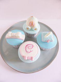 Cupcakes para Aniversário - Tema Cinderela