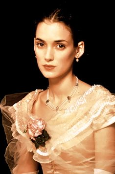 Winona Ryder is perfect as May in The Age of Innocence. Funny thing is that she is a blonde in the book. And Countess Olenska is a brunette.