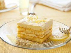 Cremiges Limoncello-Tiramisu - ohne Mascarpone - leicht und fruchtig