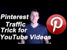 PINTEREST TRAFFIC TRICK FOR YOUTUBE VIDEOS (helpful video)