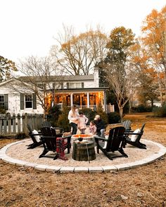 A step-by-step tutorial for a cozy outdoor DIY fire pit   the best equipment for making the job faster and easier.