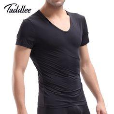 High Quality Men T Shirt Short Sleeve Casual Sleepwear Pajamas Mens Tshirts Brand O Neck Top Tees Sweatshirts T-shirts #Affiliate
