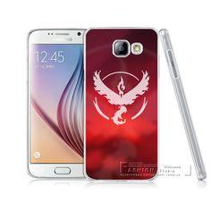 2016 Mobile Game Pokemons Go Pokeball Team Valor Mystic Instinct Cases For Samsung Galaxy A3 A5 A7 J5 J7 S4 S5 S6 S7 Edge Cover