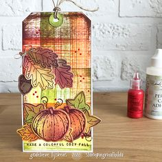 StampingMathilda: Tag - Colorful Cozy Fall