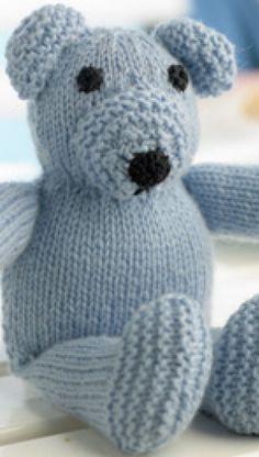 Strikket bamse | Familie Journal