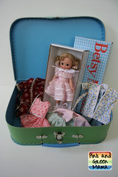 Doll Suitcase Surprise Birthday Gift