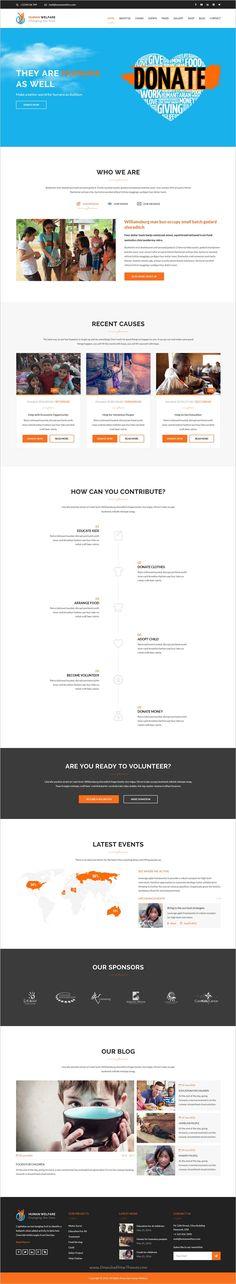 CherityBOX- Charity \/ Nonprofit HTML5 Template - ngo templates