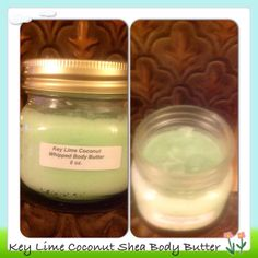 Key Lime Coconut Whipped Body Butter