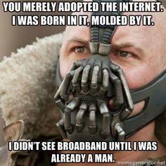 #Batman #internet #meme #Bane #TomHardy