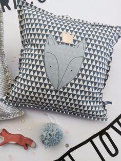 handmade with LOVE Fox, Ice Cream, King, Throw Pillows, Handmade, Cushion, Ice Creamery, Cushions, Hand Made