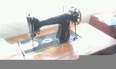 singer antika dikiş makinası
