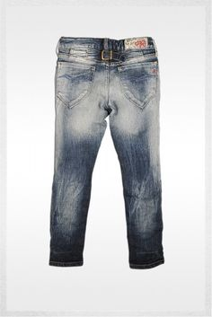 Denim trouser - Slouchy Fit denim   Jeans   Girl   FW12   Replay & Sons   REPLAY Online Shop
