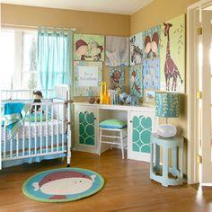 Jungle Baby Nursery Love The Corner Desk