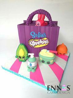 Super Cute Shopkins Cake!
