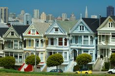 Apparently we'll need to stop in San Francisco on our way to Portland this year. This is all I think of. Anyone remember Full House? = my entire understanding of the place. Oh, and the fact that body piercing in the Western world got its first big gig here.
