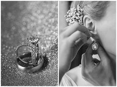 #Hochzeitsfotos der #Ringe und der Tropfen-Ohrringe der #Braut • Weddingpictures with ring of the bride