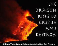 Day 24 of the #danaf7wordstory challenge! Today's prompt is Fissure. . Volcanoes are seriously so cool!  I wouldn't want to be near an active one mind you but I love watching seeing the raw power of creation and destruction (as long as no one is being hurt) rolled into one massive force.  New islands are always being formed by them. . . . #writingchallenge #monthlychallenge #7wordstory #sevenwordstory #7wordstoryprompt #microfiction #flashfiction #ministory #wordgame #wordmagic #writersofig…
