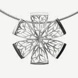 Kuura Pendant, Sterlin silver, Design by Kristian Saarikorpi Jewellery, Chain, Pendant, Silver, Stones, Presents, Nice, Design, Women