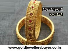 Cash for gold is ready to buy and sell gold jewelry items that you bring to us, whether it is also used in jewelry or broken. India Jewelry, Gold Jewelry, Jewelery, Fine Jewelry, Kerala Jewellery, Maharashtrian Jewellery, Diamond Jewelry, Gold Bangles Design, Jewelry Design