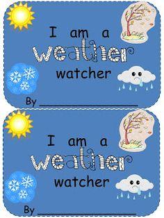 the Love of Kindergarten: Winter Weather Easy Reader (freebie) Weather Kindergarten, Teaching Weather, Preschool Weather, Weather Activities, Kindergarten Science, Science Classroom, Teaching Science, Science Education, Science Activities
