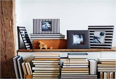 The IKEA ÅSARNA frame set can be used hanging or standing, both horizontally and vertically, to fit in the space available and give black and white pictures a great bold display. Each three frame set is $12.99.