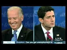 A new Republican web ad details Joe Biden laughing and smirking at Paul Ryan throughout Thursday night's vice presidential debate: