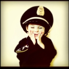 My little police officer